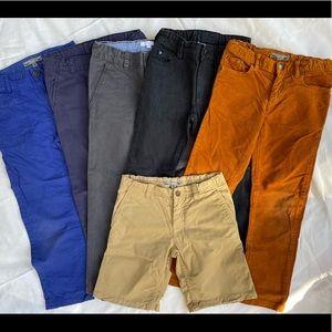 Boys size 6 high end pant bundle